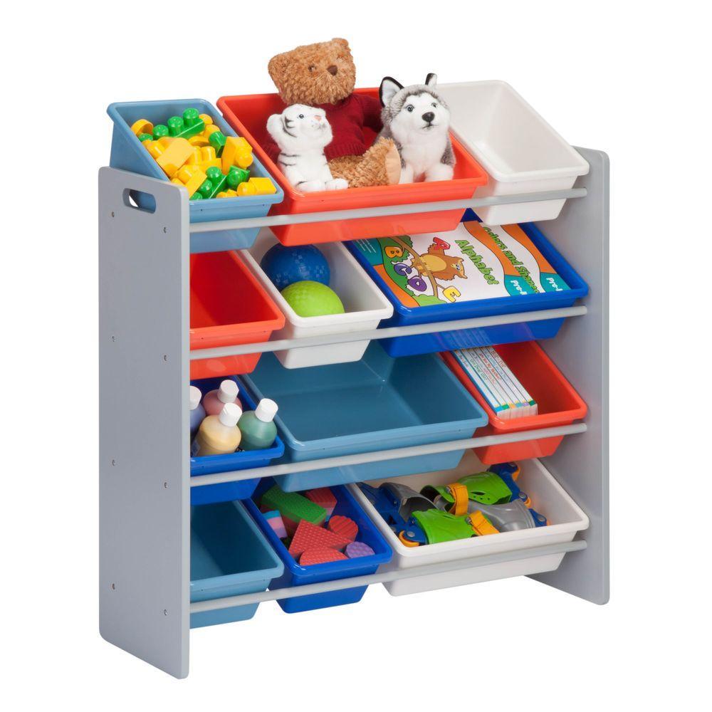 Honey Can Do Kids Toy Storage Organizer