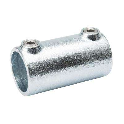 1-1/4 in. Galvanized Structural Steel Straight Coupling (2-Pack)