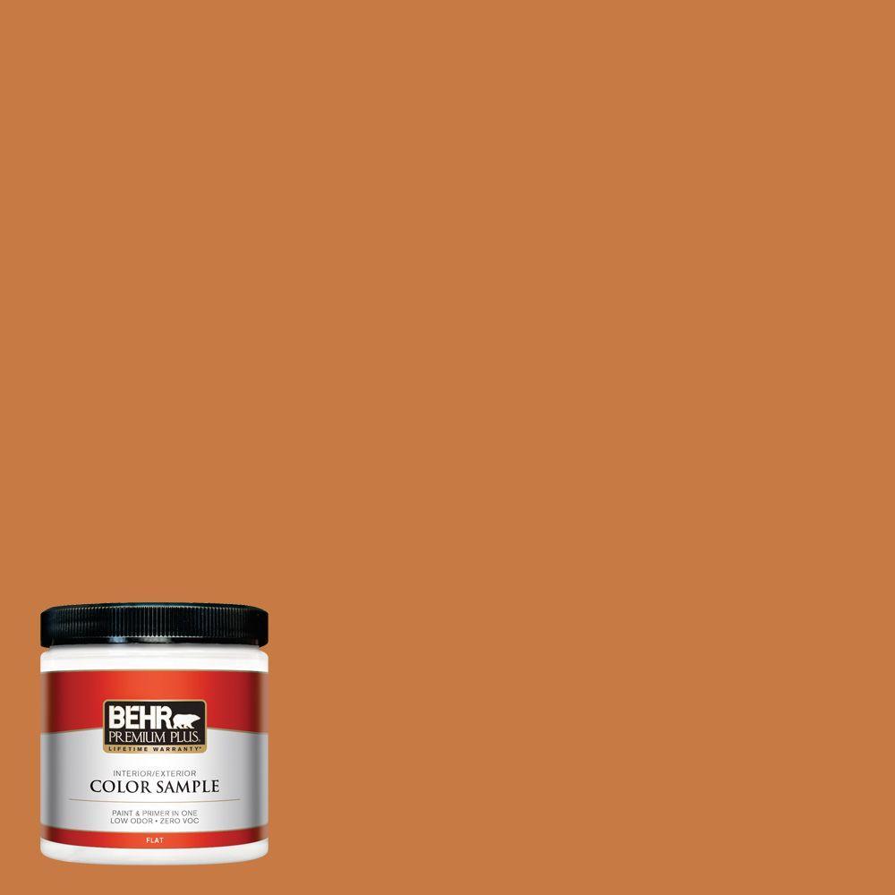 8 oz. #M230-7 Rumba Orange Interior/Exterior Paint Sample