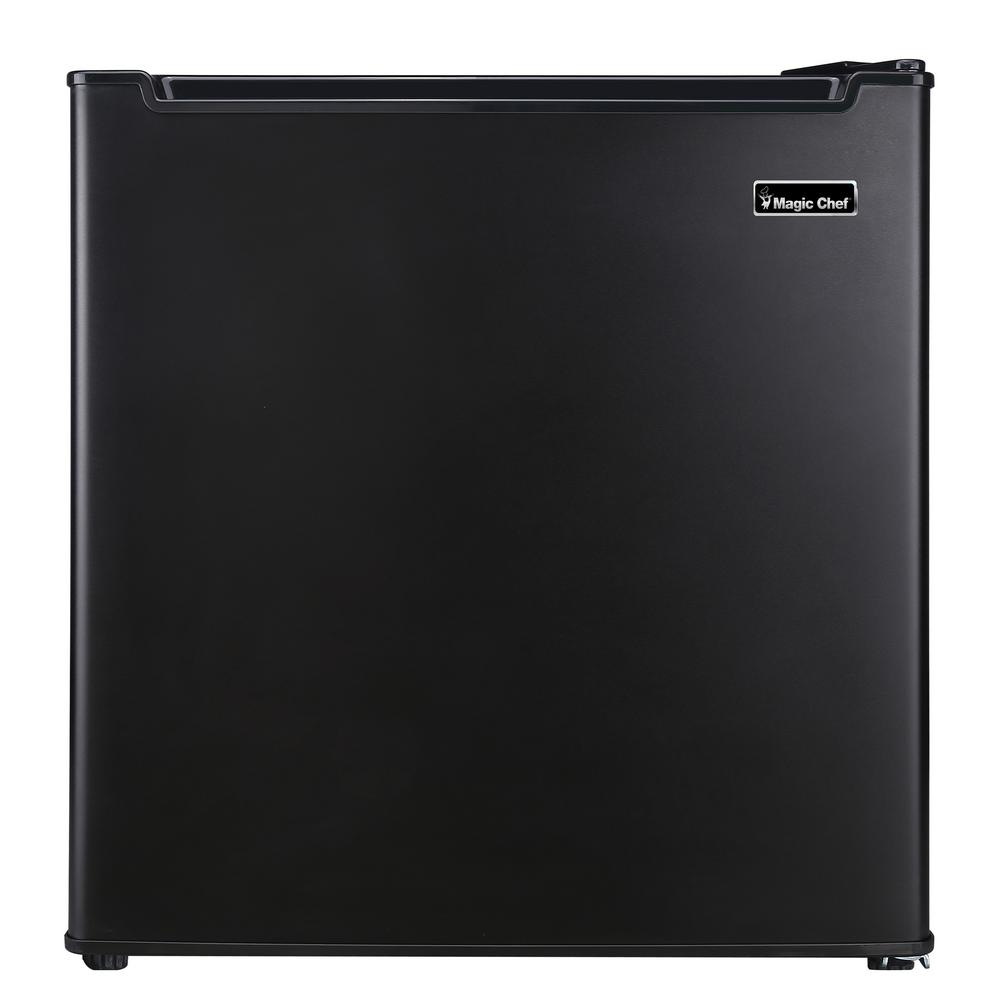 1.7 cu. ft. Freezer-less Mini Refrigerator in Black