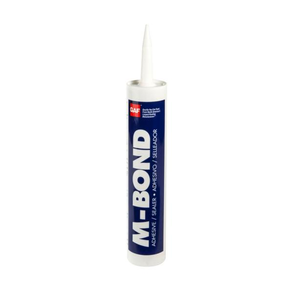 M-Bond 10 oz. Polyether Moisture-Curing Roofing Sealant in White