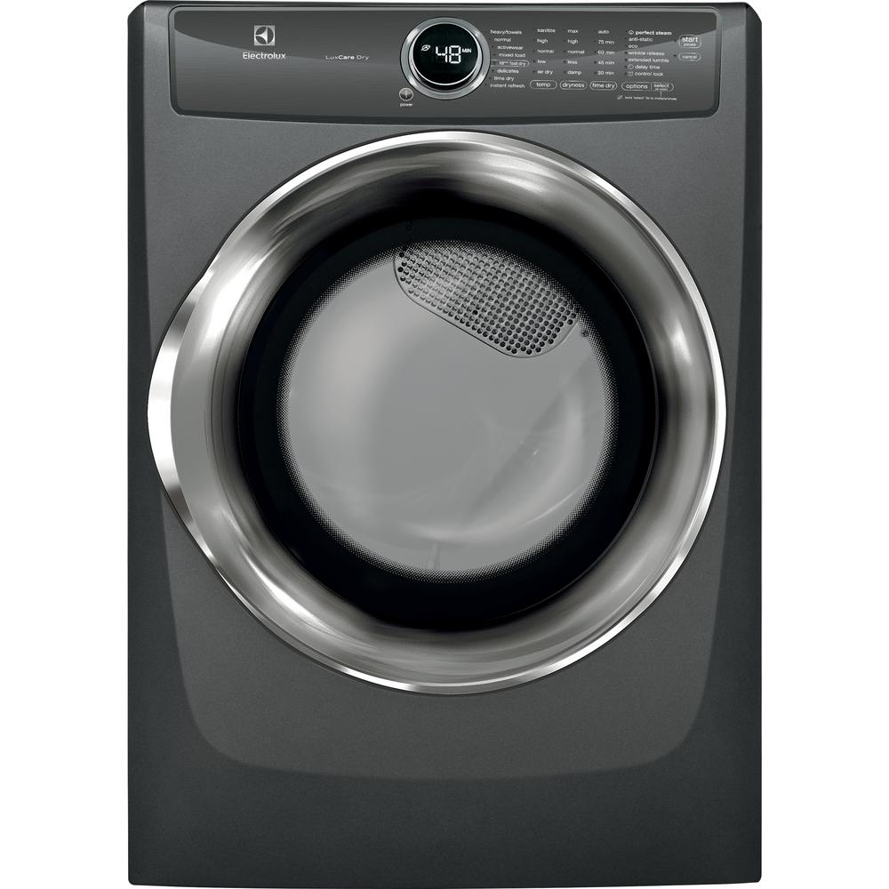 8.0 cu. ft. Front Load Perfect Steam Electric Dryer with LuxCare