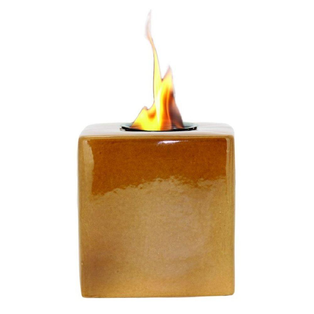 Pacific Decor Amber Cube Fire Pot-DISCONTINUED