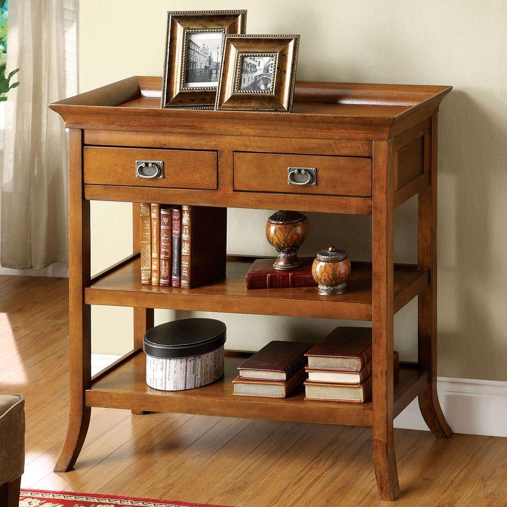 Venetian Worldwide Wickenburg Medium Oak Side Table