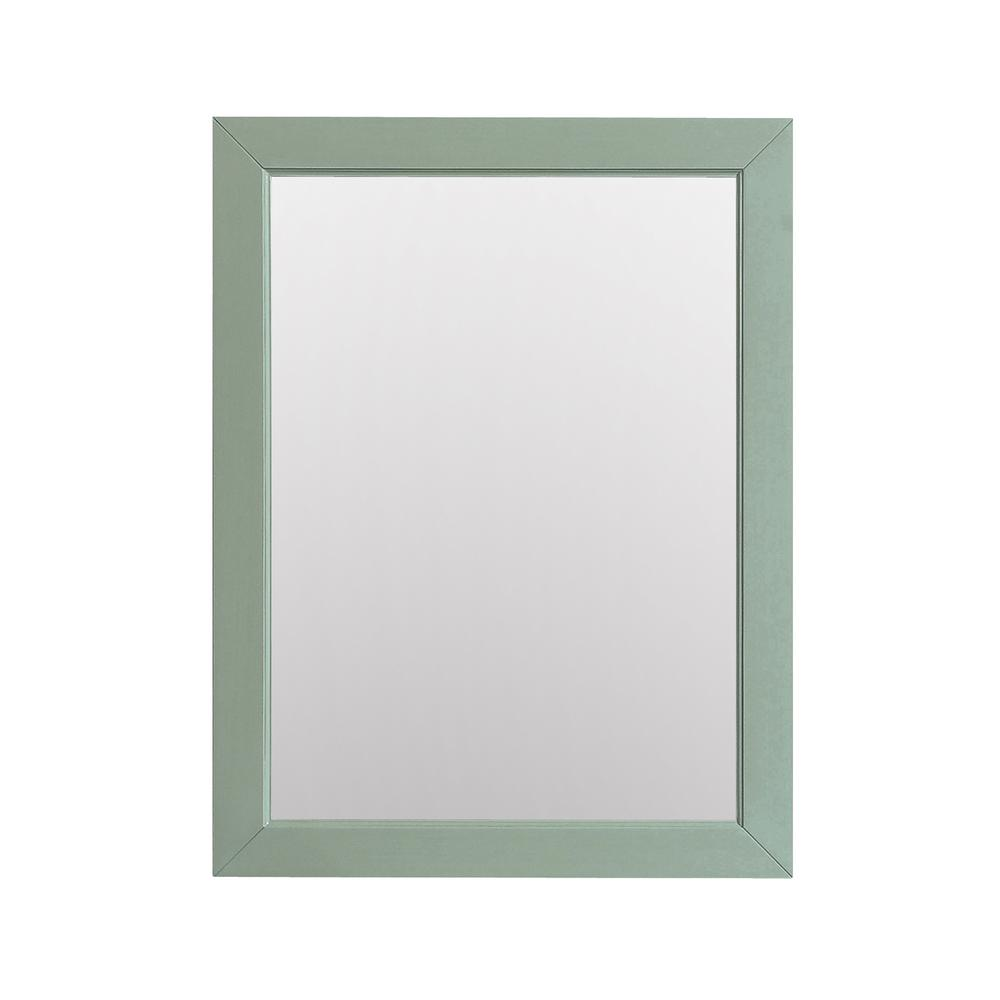 Mercer 28 in. W x 32 in. H Framed Mirror in