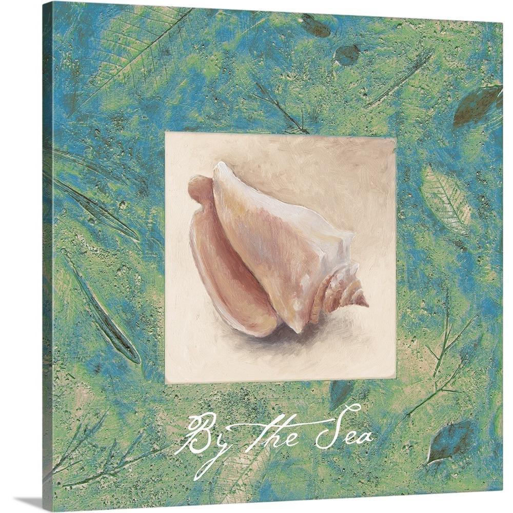 """By the Sea"" by  Lanie Loreth Canvas Wall Art"