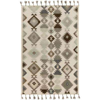 Amalie Ivory 5 ft. x 7 ft. 6 in. Indoor Area Rug