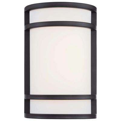 Bay View 1-Light Oil Rubbed Bronze Outdoor LED Pocket Lantern