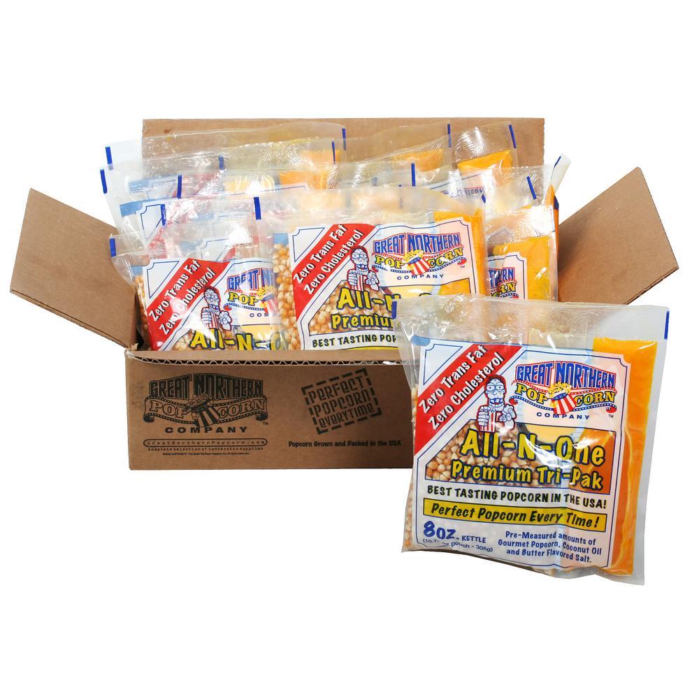 8 oz. Premium Popcorn Portion Packs (12-Pack)