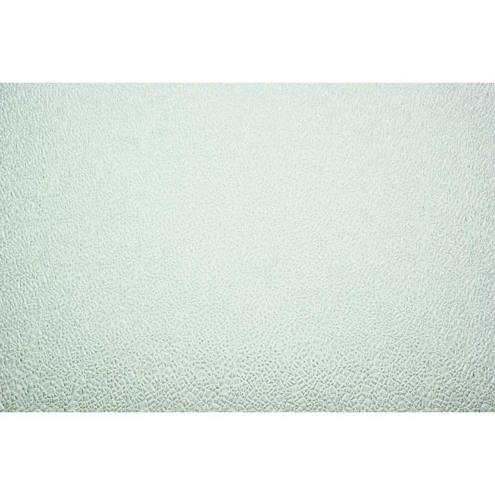 null 2 ft. x 2 ft. Styrene White Cracked Ice Lighting Panel (5-Pack)