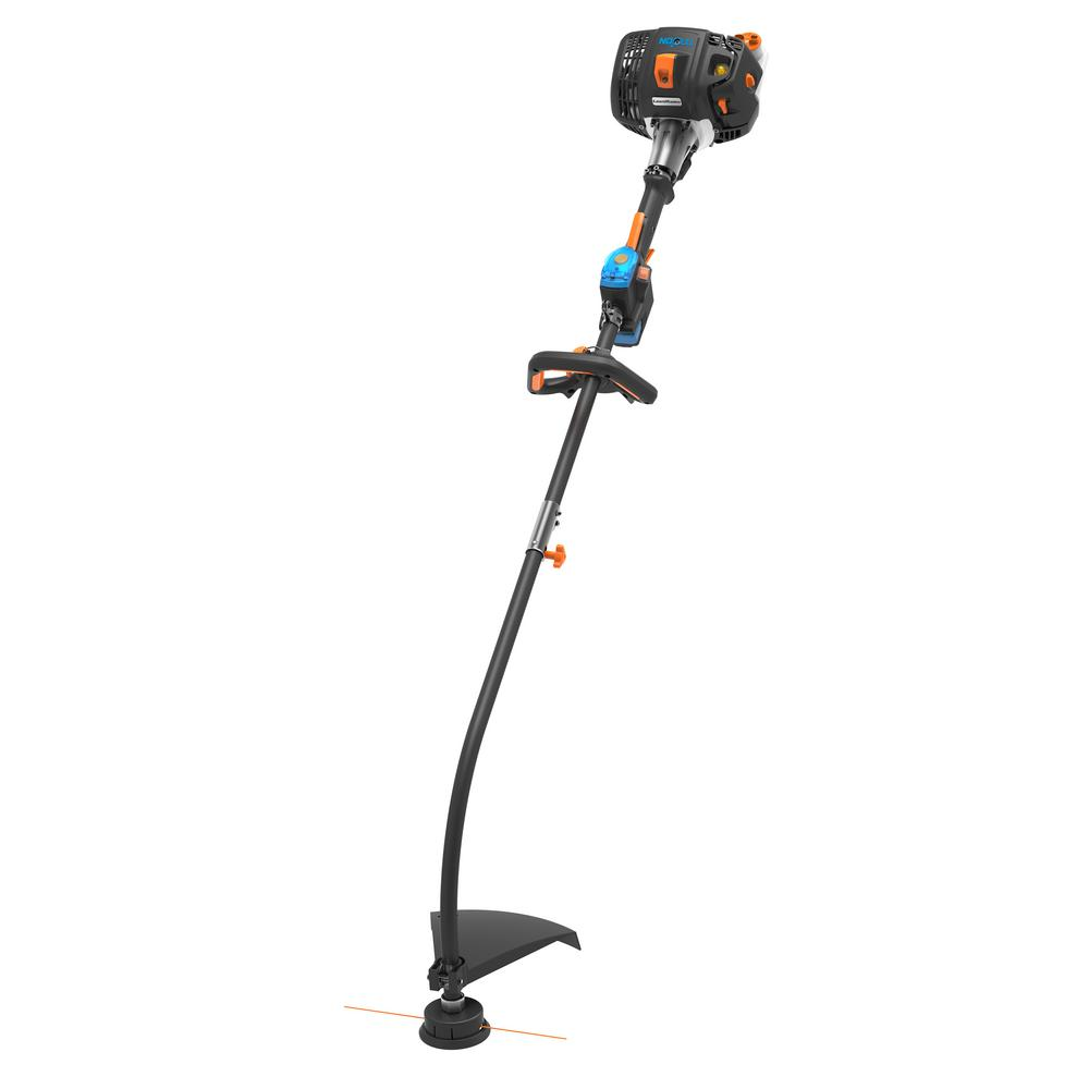 Lawnmaster 26cc Gas NO-PULL Electric Push Button Start 2-Cycle String Trimmer