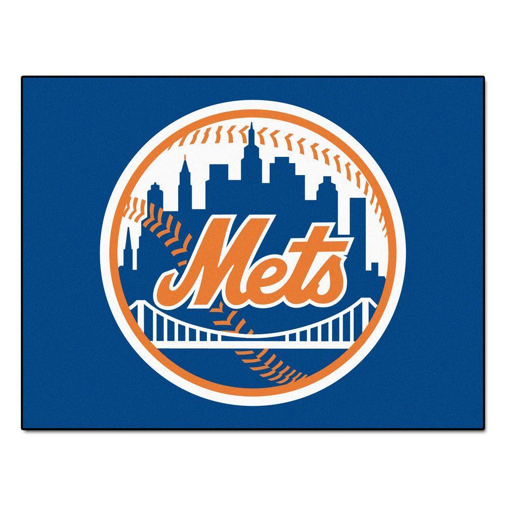 MLB New York Mets Blue 2 ft. 10 in. x 3