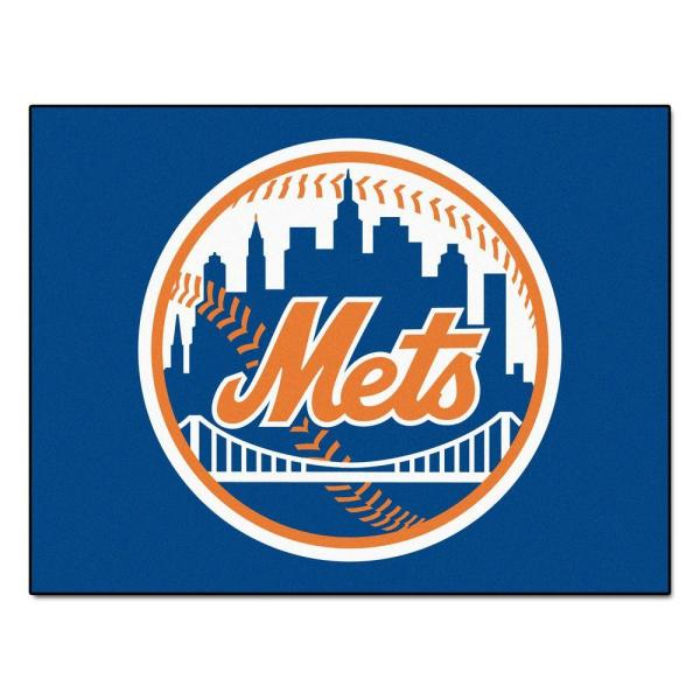 MLB New York Mets Blue 3 ft. x 4 ft. Indoor Area Rug