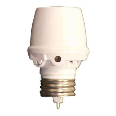 Smart Dusk to Dawn Screw-In Light Control, White
