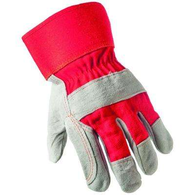 Winter Suede Leather Palm Large 40g Thinsulate Gloves