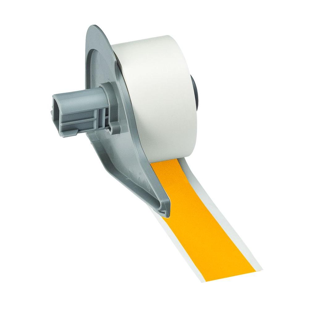 BMP71 B-595 1 in. x 50 ft. Indoor/Outdoor Yellow Tape
