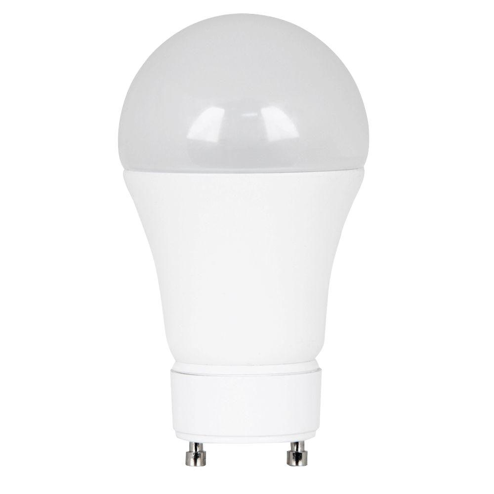 Feit Electric 60W Equivalent Warm White (3000K) A19 GU24 Dimmable ...