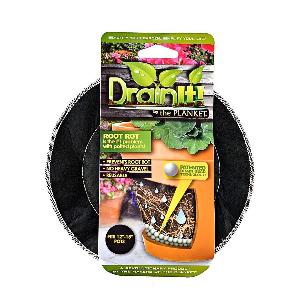 12 in. - 15 in. pot easy-flow drain disc