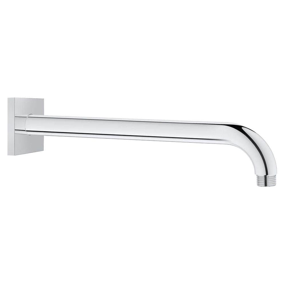 12 in. Wall Arm Square in StarLight Chrome