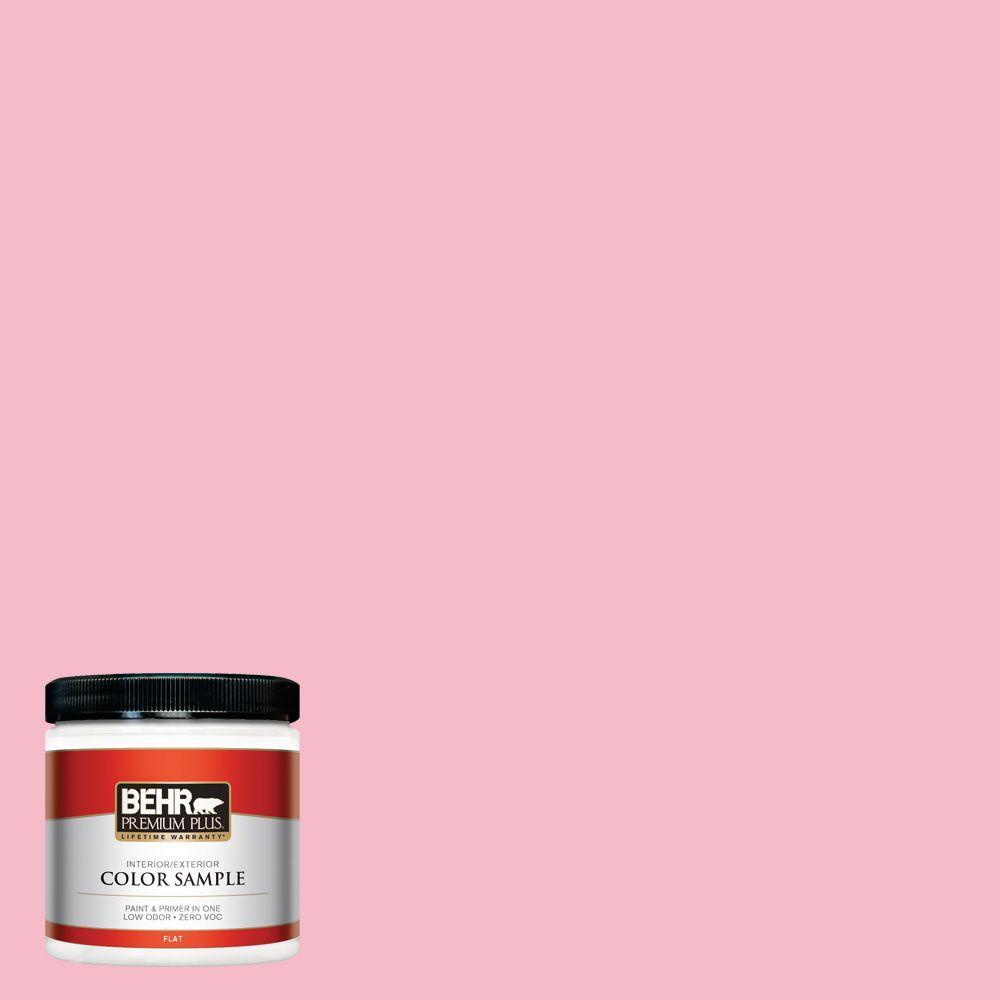 8 oz. #120C-2 Pink Punch Interior/Exterior Paint Sample
