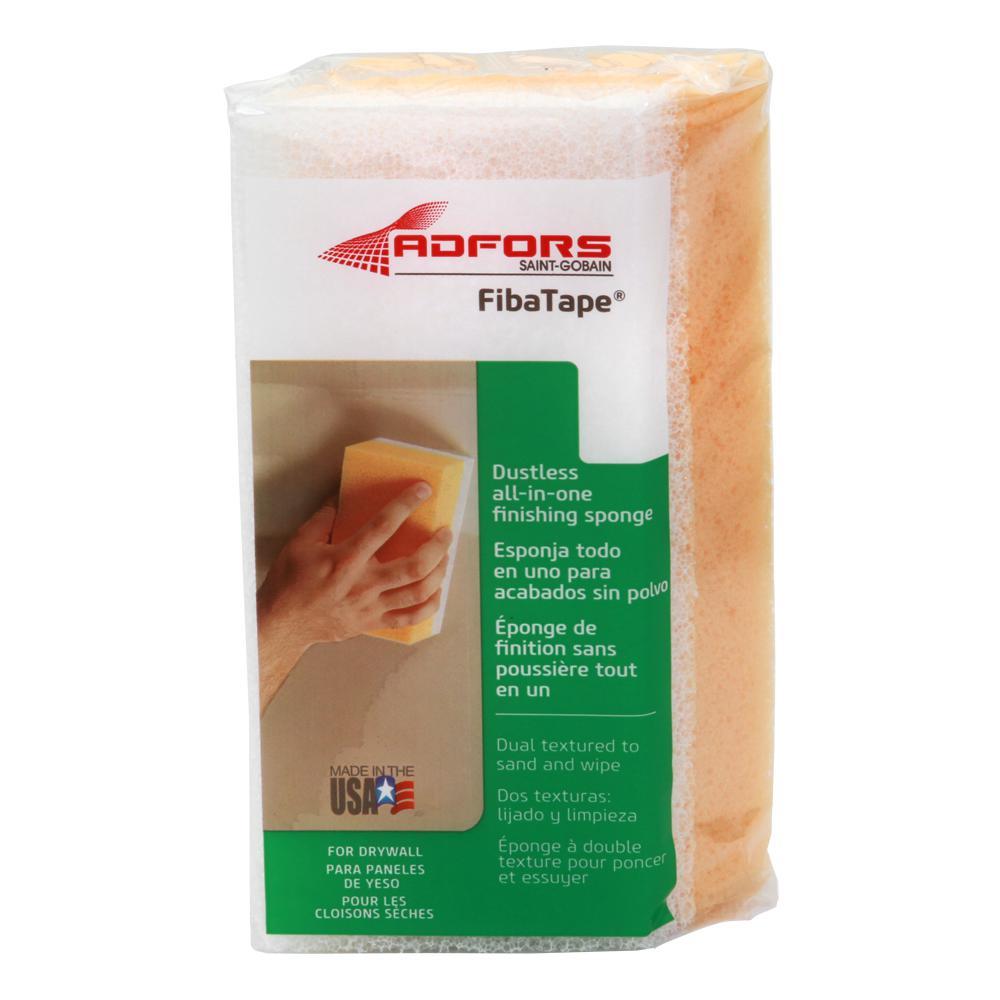 6 in. 2-in-1 Drywall Sanding Sponge