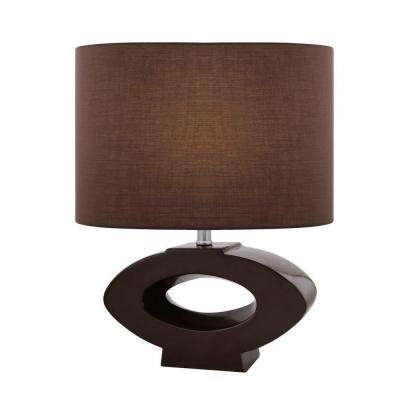 20.5 in. 1-Light Coffee Table Lamp