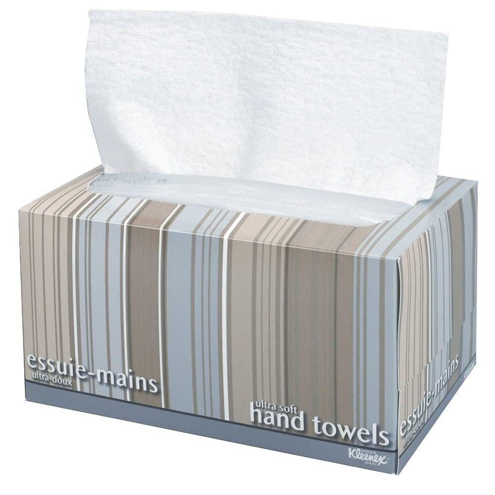 9 in. x 10.50 in. Ultra-Soft Box Towel 1-Ply (70 per Box)