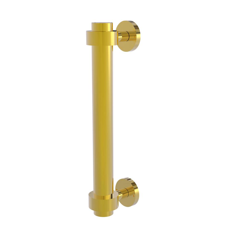 8 in. Door Pull in Polished Brass