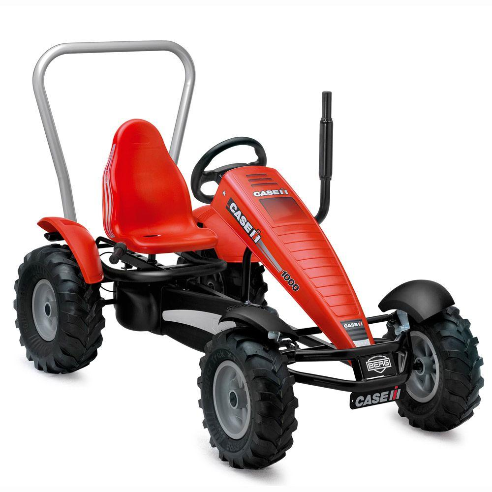 null Case IH BF-3 Pedal Go-Kart Tractor