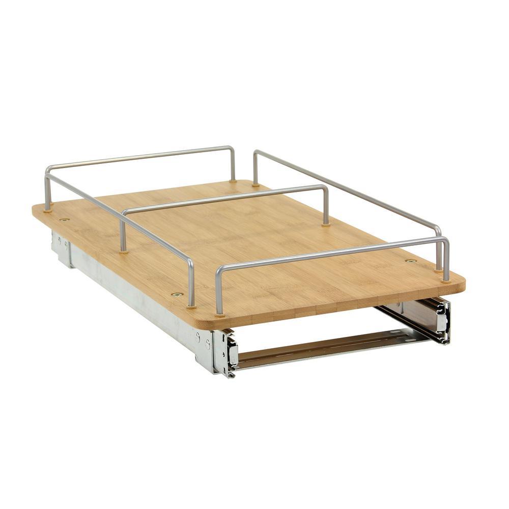 4.3 in. x 21 in. Bamboo Cabinet Organizer/Deep