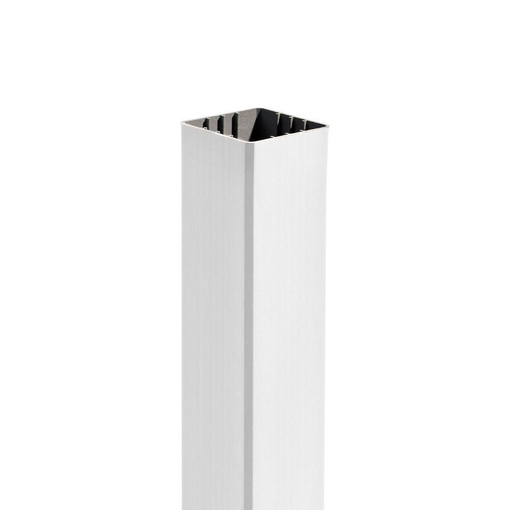 Trex 4 In. X 4 In. X 48 In. Post Sleeve In Classic White