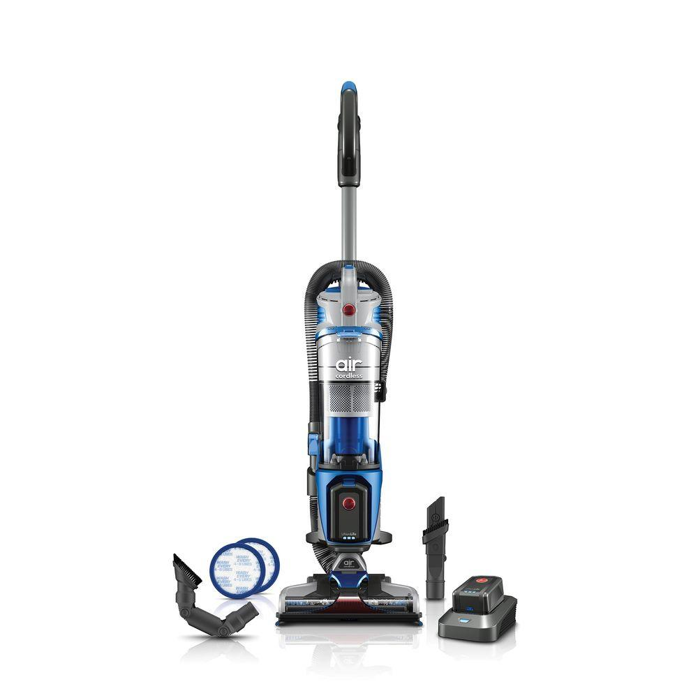 Hoover Hoover Air Cordless Lift 20-Volt Bagless Upright Vacuum Cleaner, Blues
