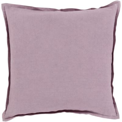 Cesky Purple Geometric Polyester 18 in. x 18 in. Throw Pillow