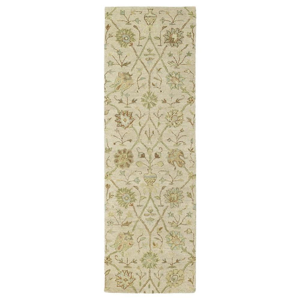 Kaleen Helena Turquoise Area Rug Reviews: Kaleen Helena Aphrodite Ivory 2 Ft. 6 In. X 8 Ft. Runner
