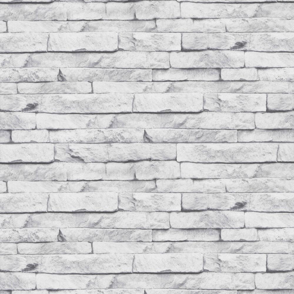 Strata Odysee White Removable Wallpaper