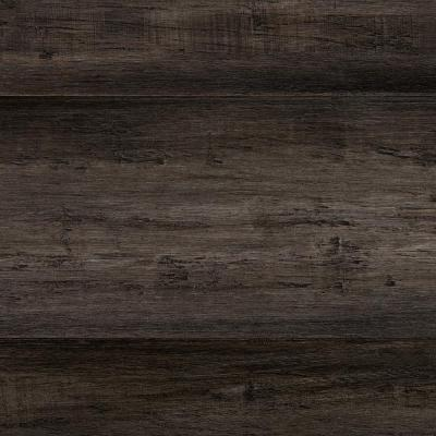 Hand Scraped Strand Woven Tacoma 3/8 in. T x 5-1/5 in. W x 36.02 in. L Engineered Click Bamboo Flooring