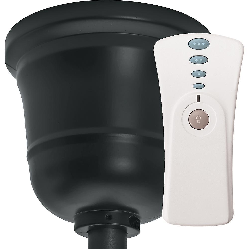 Original Indoor/Outdoor Black Canopy and Universal Handheld Remote Control