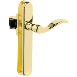 Amazing Wright Products Serenade Polished Brass Lever Latch VBG115PB   The Home  Depot