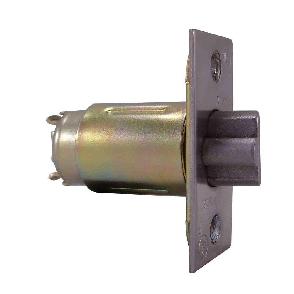 Universal Hardware Commercial/Residential 2-3/8 in. x 1 in. Face Dead Latch with T-Strike Plate