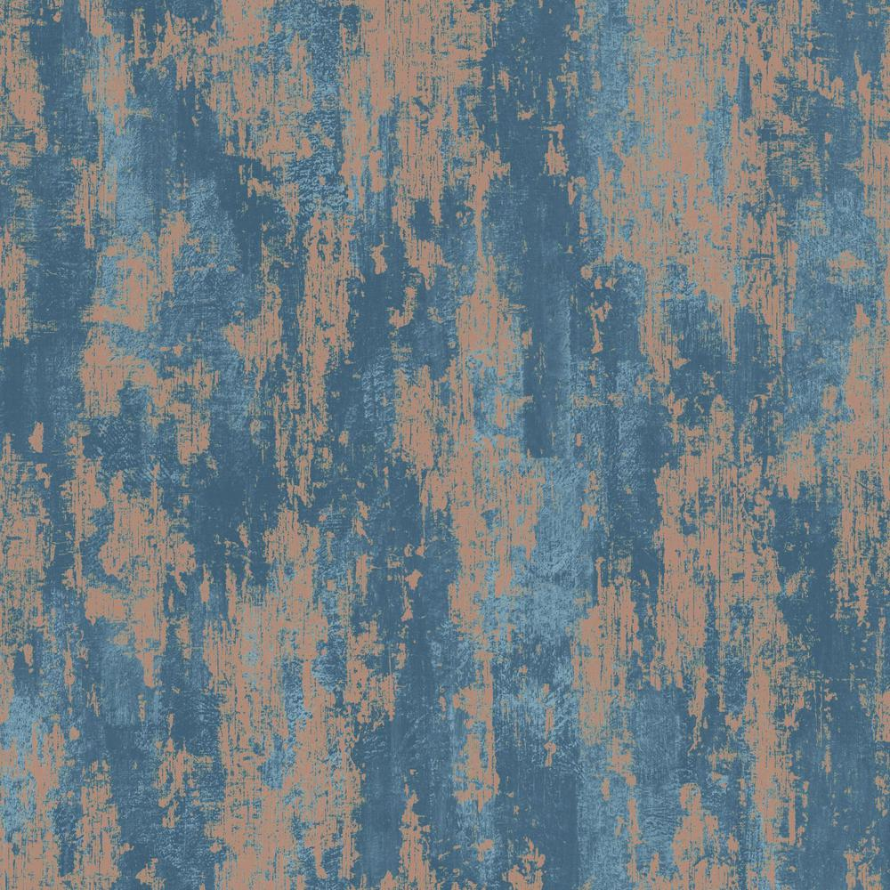 Graham Amp Brown Industrial Texture Blue And Copper