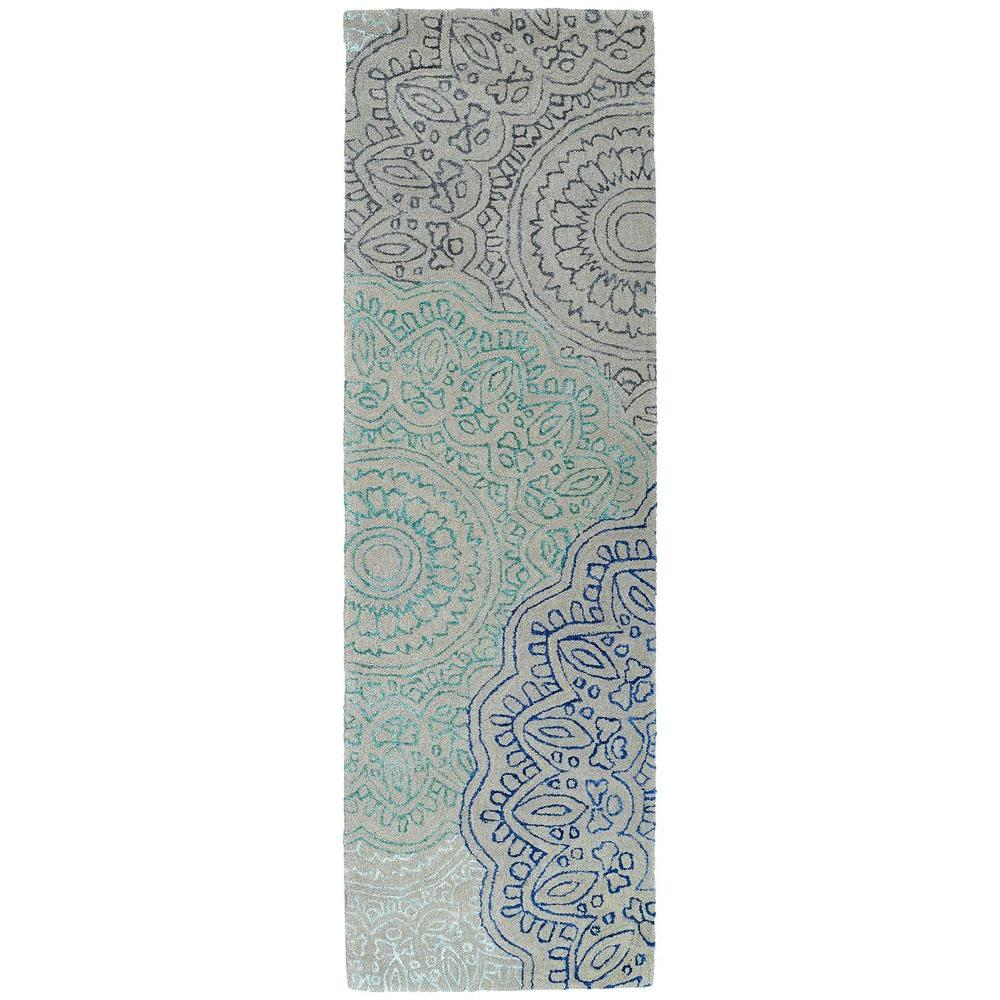 Kaleen Divine Multi 2 ft. 6 in. x 8 ft. Runner