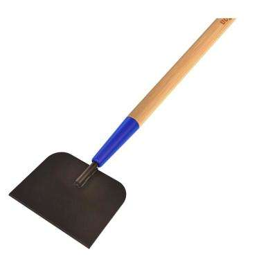7 in. W Floor and Ice Scraper with 60 in. Wood Handle