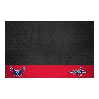 Washington Capitals 26 in. x 42 in. Grill Mat