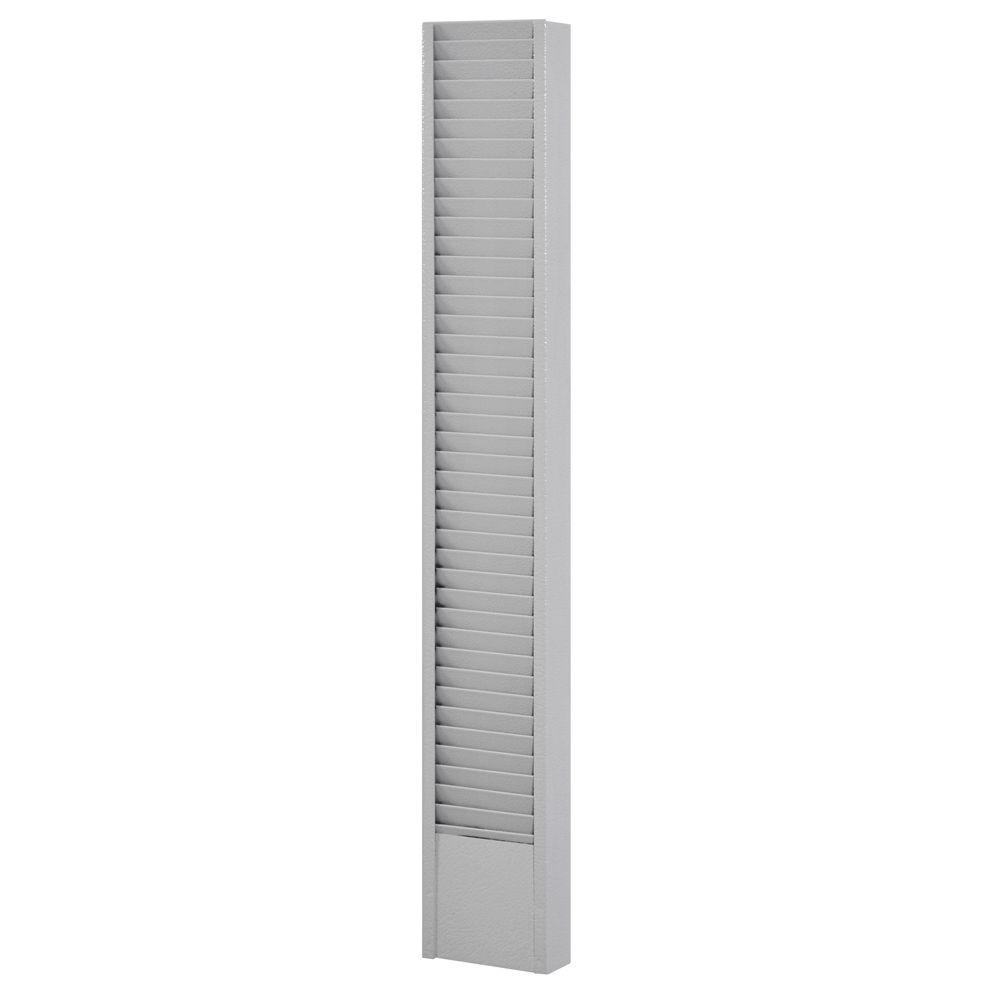 Buddy Products 40-Pocket Vertical Badge Card Rack