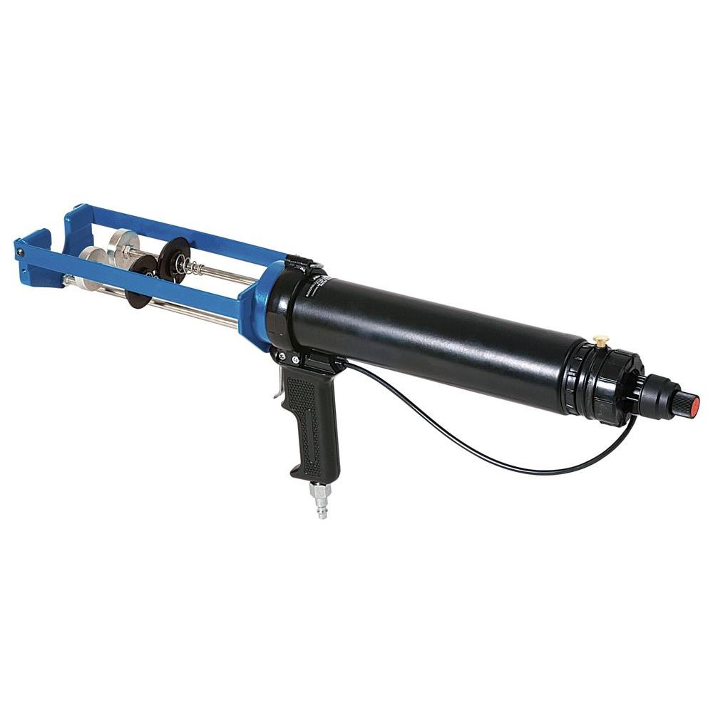 COX 300 ml x 300 ml/300 ml x 150 ml/300 ml x 75 ml Dual Cartridge High Power Pneumatic Epoxy Applicator Gun