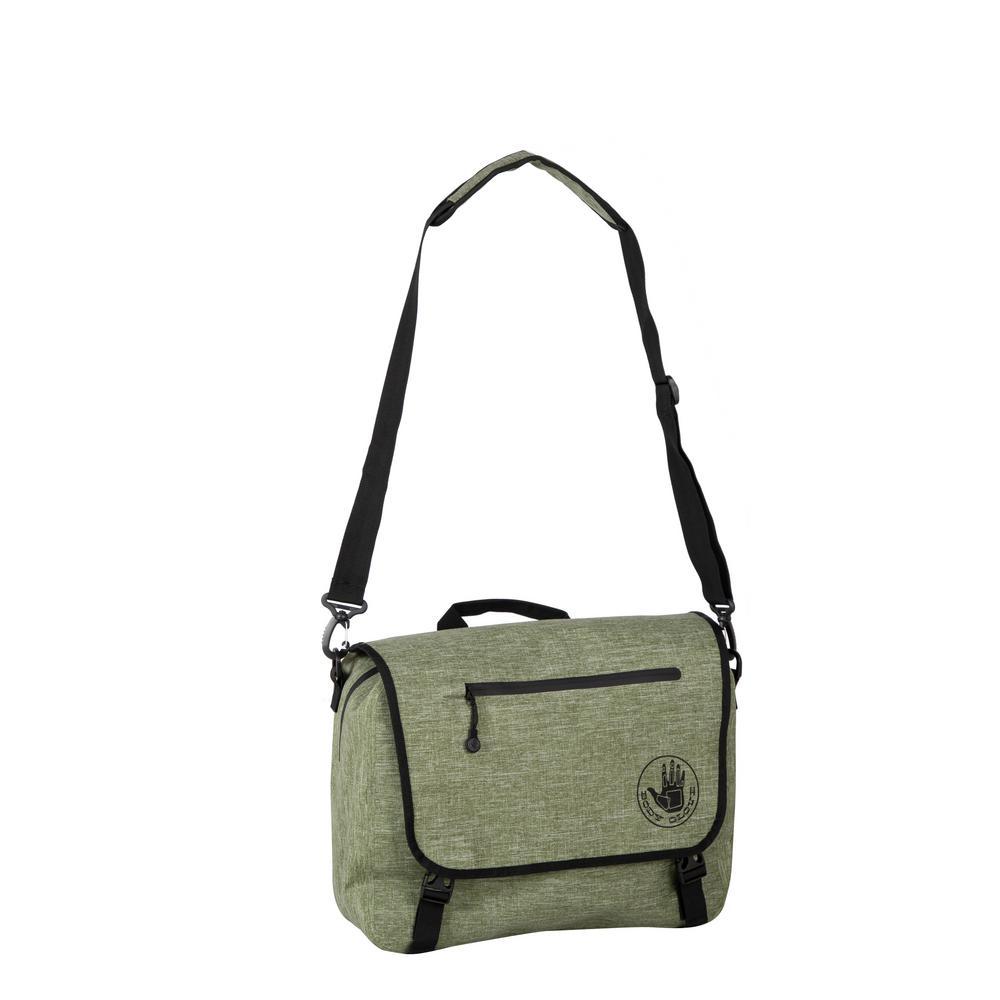 Terramar Green Waterproof Messenger Bag