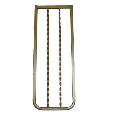 10-1/2 in. Extension for Bronze Wrought Iron Decor Gate