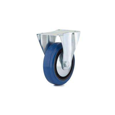 5 in. 100 kg/220 lbs. Heavy-Duty Blue Wheel Caster