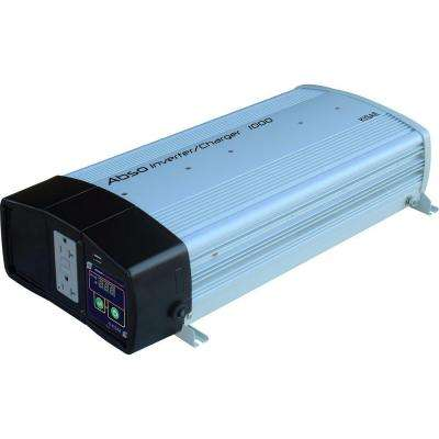 Abso 1,000-Watt Sine Wave Inverter with 40-Amp Battery Charger
