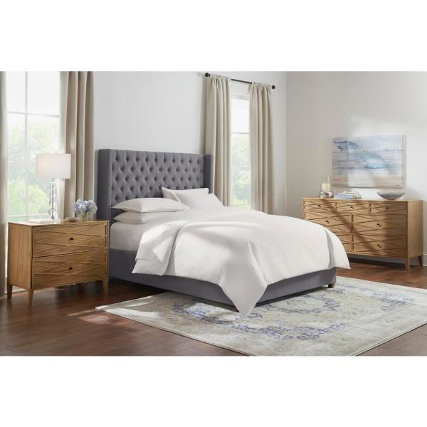 h and m home decor.htm home decorators collection hillcott charcoal gray upholstered king  home decorators collection hillcott